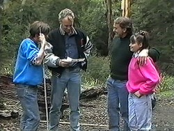 Todd Landers, Jim Robinson, Doug Willis, Cody Willis in Neighbours Episode 1253