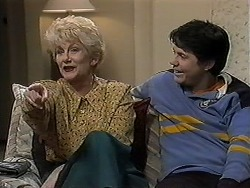 Madge Bishop, Joe Mangel in Neighbours Episode 1253