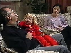 Harold Bishop, Sky Mangel, Kerry Bishop in Neighbours Episode 1253