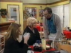 Melanie Pearson, Madge Bishop, Harold Bishop in Neighbours Episode 1253