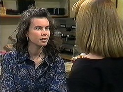 Tanya Walsh, Melanie Pearson in Neighbours Episode 1253
