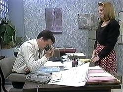Paul Robinson, Melanie Pearson in Neighbours Episode 1253