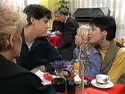 Madge Bishop, Joe Mangel, Sky Mangel, Kerry Bishop in Neighbours Episode 1253
