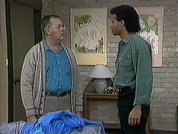Harold Bishop, Eddie Buckingham in Neighbours Episode 1254