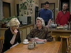 Madge Bishop, Helen Daniels, Des Clarke, Harold Bishop in Neighbours Episode 1254