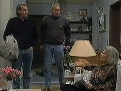 Doug Willis, Jim Robinson, Helen Daniels in Neighbours Episode 1254