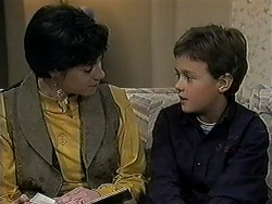 Kerry Bishop, Toby Mangel in Neighbours Episode 1254