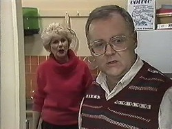Madge Bishop, Harold Bishop in Neighbours Episode 1256