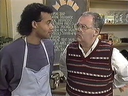 Eddie Buckingham, Harold Bishop in Neighbours Episode 1256