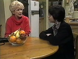 Madge Bishop, Kerry Bishop in Neighbours Episode 1256