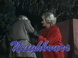 Clarrie McLachlan, Helen Daniels in Neighbours Episode 1256