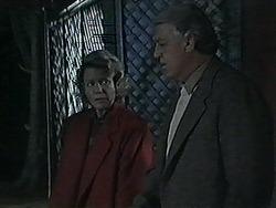 Helen Daniels, Clarrie McLachlan in Neighbours Episode 1257