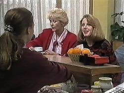 Gemma Ramsay, Madge Bishop, Melanie Pearson in Neighbours Episode 1257