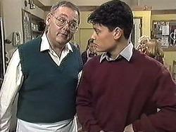 Harold Bishop, Josh Anderson in Neighbours Episode 1257