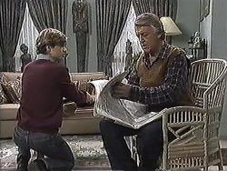 Ryan McLachlan, Clarrie McLachlan in Neighbours Episode 1257