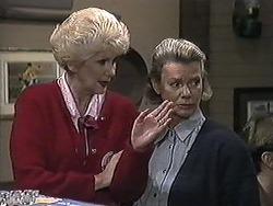 Madge Bishop, Helen Daniels in Neighbours Episode 1257