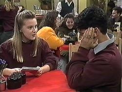 Melissa Jarrett, Josh Anderson in Neighbours Episode 1257