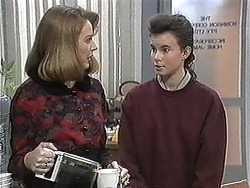 Melanie Pearson, Tanya Walsh in Neighbours Episode 1257