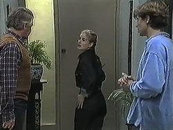Clarrie McLachlan, Annabelle Deacon, Ryan McLachlan in Neighbours Episode 1257