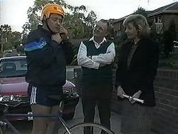 Jim Robinson, Harold Bishop, Beverly Marshall in Neighbours Episode 1258