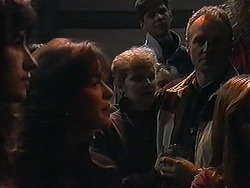 Caroline Alessi, Beverly Marshall, Jim Robinson in Neighbours Episode 1258
