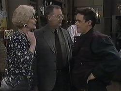Madge Bishop, Harold Bishop, Paul Robinson in Neighbours Episode 1258