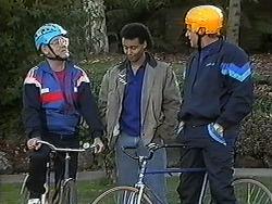 Harold Bishop, Eddie Buckingham, Jim Robinson in Neighbours Episode 1258