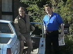 Doug Willis, Des Clarke in Neighbours Episode 1258