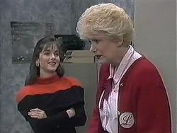 Caroline Alessi, Madge Bishop in Neighbours Episode 1258