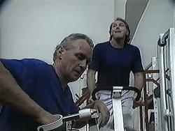 Jim Robinson, Doug Willis in Neighbours Episode 1258