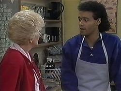 Madge Bishop, Eddie Buckingham in Neighbours Episode 1258
