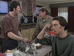 Des Clarke, Doug Willis, Matt Robinson in Neighbours Episode 1259
