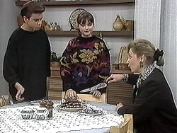 Todd Landers, Cody Willis, Beverly Marshall in Neighbours Episode 1259