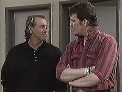 Doug Willis, Des Clarke in Neighbours Episode 1259
