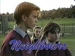 Todd Landers, Melissa Jarrett, Cody Willis in Neighbours Episode 1259