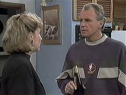 Beverly Marshall, Jim Robinson in Neighbours Episode 1260