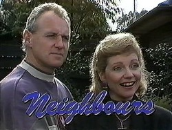 Jim Robinson, Beverly Marshall in Neighbours Episode 1260