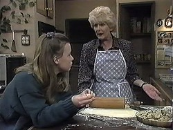 Gemma Ramsay, Madge Bishop in Neighbours Episode 1261
