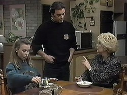 Gemma Ramsay, Matt Robinson, Madge Bishop in Neighbours Episode 1261