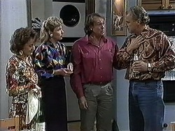 Pam Willis, Beverly Robinson, Doug Willis, Jim Robinson in Neighbours Episode 1262