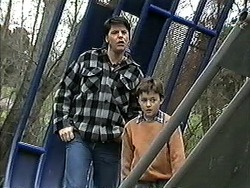 Joe Mangel, Toby Mangel in Neighbours Episode 1262