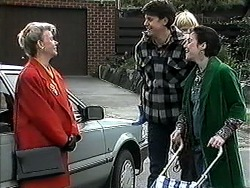Helen Daniels, Joe Mangel, Sky Mangel, Kerry Bishop in Neighbours Episode 1262