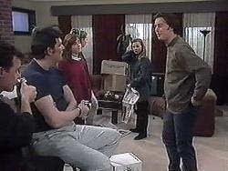 Paul Robinson, Des Clarke, Christina Alessi, Melanie Pearson, Gemma Ramsay, Matt Robinson in Neighbours Episode 1263