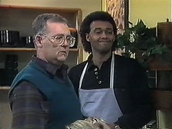 Harold Bishop, Eddie Buckingham in Neighbours Episode 1264