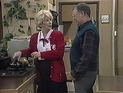 Madge Bishop, Harold Bishop in Neighbours Episode 1264