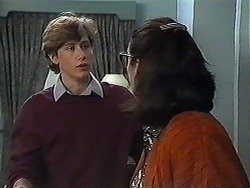 Ryan McLachlan, Dorothy Burke in Neighbours Episode 1266