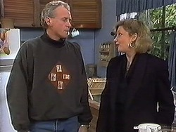 Jim Robinson, Beverly Marshall in Neighbours Episode 1266