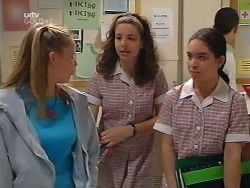 Denny Cook, Hannah Martin, Zoe Tan in Neighbours Episode 3131