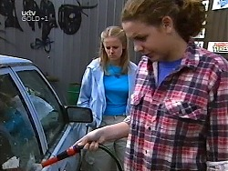 Denny Cook, Hannah Martin in Neighbours Episode 3131