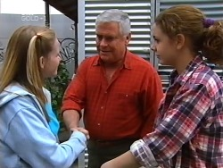 Denny Cook, Lou Carpenter, Hannah Martin in Neighbours Episode 3131